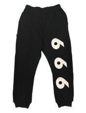 画像3: TEAM SATAN SKATE BOARDING FLAME SWEAT PANT (3)
