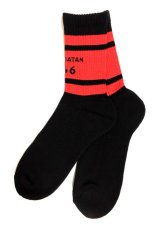 画像2: TEAM SATAN SKATEBOARDING SOCKS SET (2)