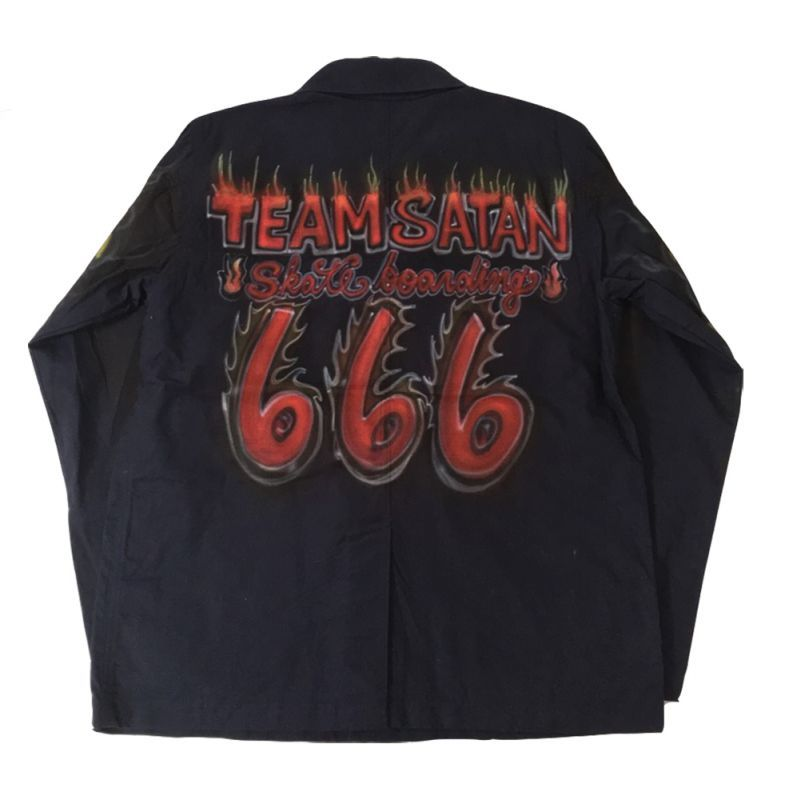 画像1: TEAM SATAN x EXPANSION NY CUSTOM MADE COACH JKT (1)