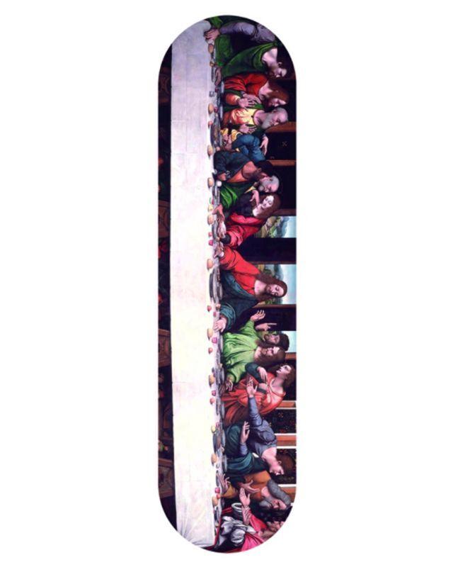 画像1: LAST SUPPER SKATE DECK (1)